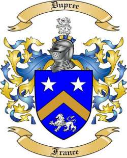 Dupree family crest