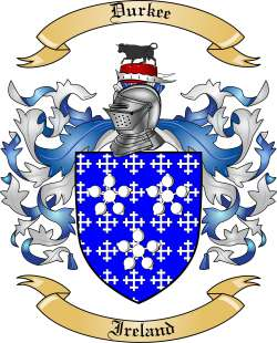 Durkee family crest