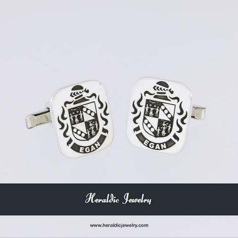 Egan family crest cufflinks