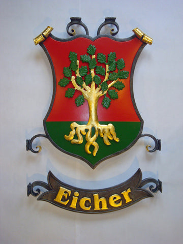 Eicher family crest