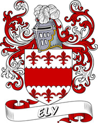 Ely family crest