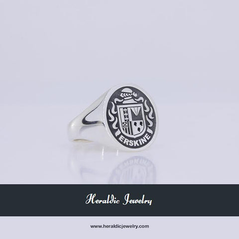 Erskine family crest ring
