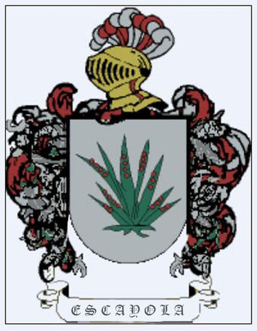 Escayola family crest