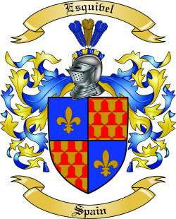 Esquibel family crest