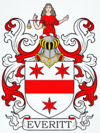 Everitt family crest
