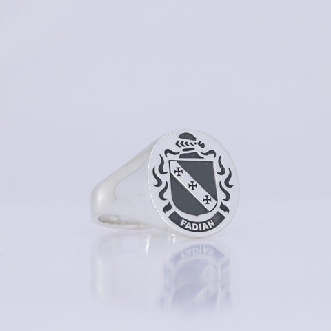 Fadian family crest ring