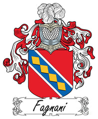 Fagnani family crest
