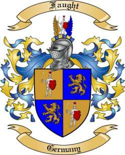 Faught family crest