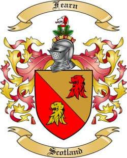 Fearn family crest