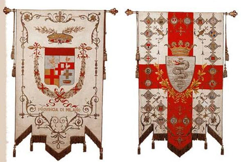 Heraldry and flags