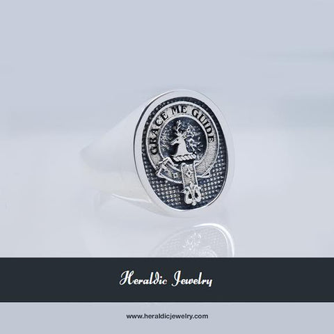 Forbes clan crest ring