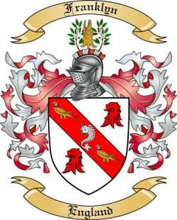 Franklyn family crest