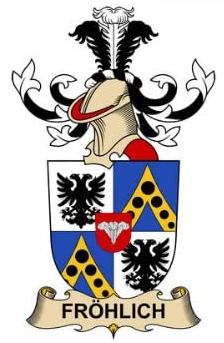 Frohlich family crest