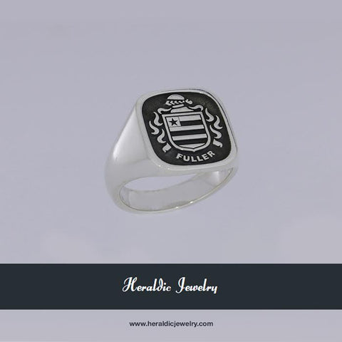 Fuller family crest ring