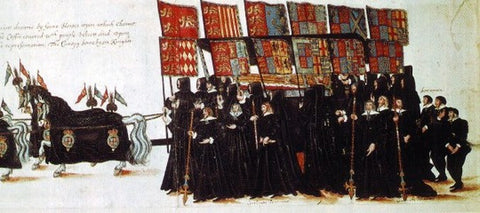 The funeral of Elizabeth I