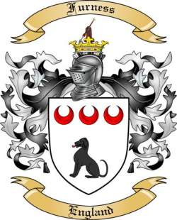 Furness family crest