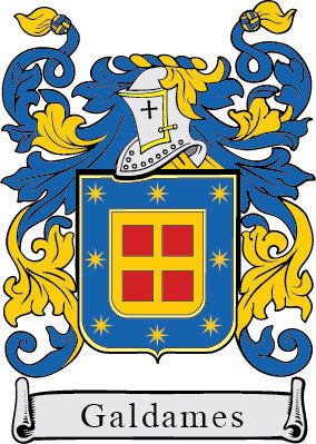 Galdames family crest