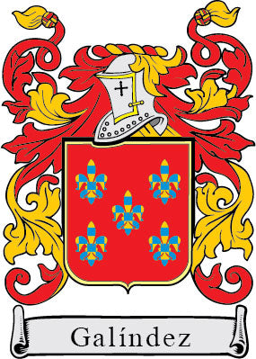 Galindez family crest