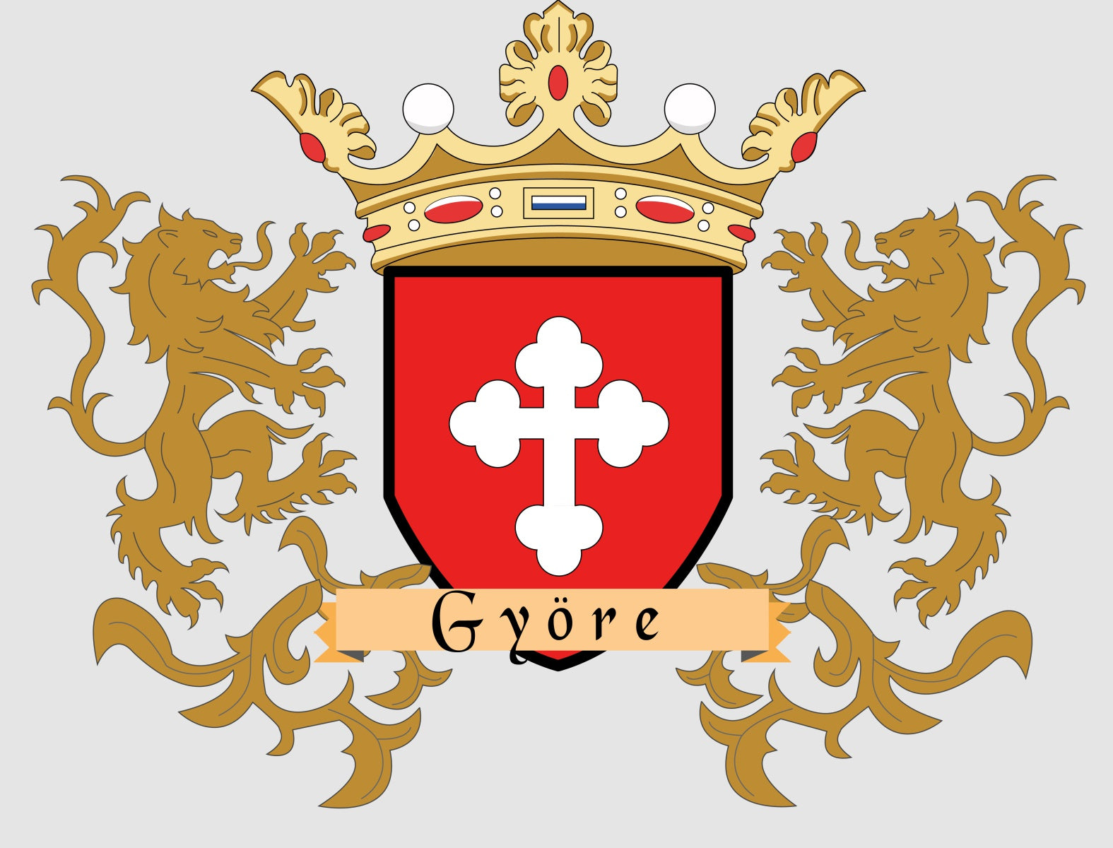 Gyore family crest
