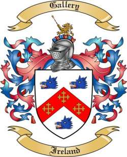 Gallery family crest