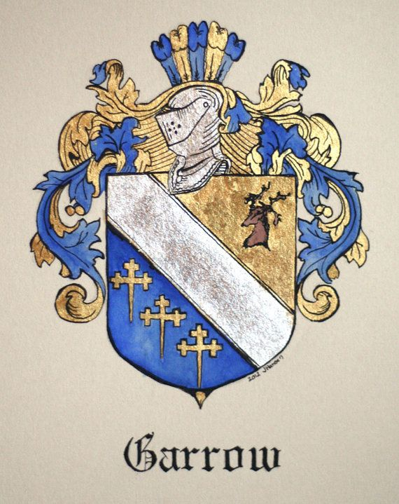Garrow family crest