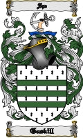 Gaskill family crest