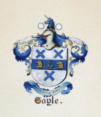 Gayle family crest
