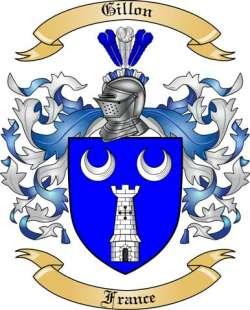 Gillon family crest