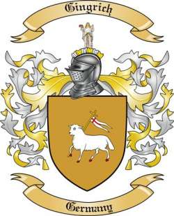 Gingrich family crest