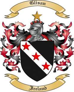 Glisan family crest