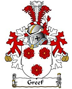 Greef family crest