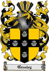 Greeley family crest