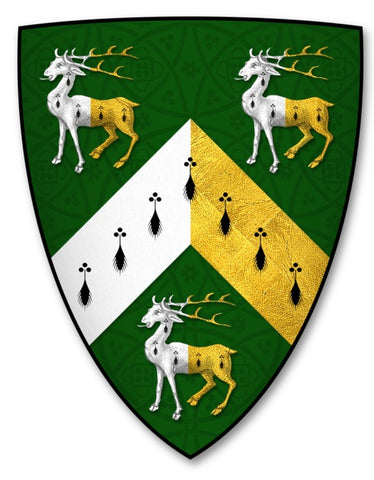 Greenley family crest