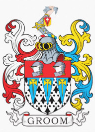 Groom family crest
