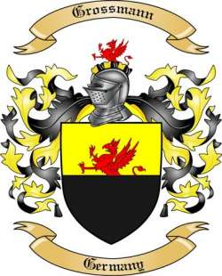 Grossmann family crest