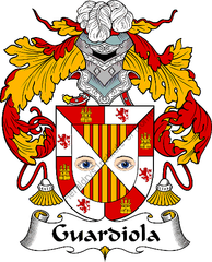 Guardiola family crest