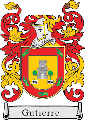 Gutierre family crest