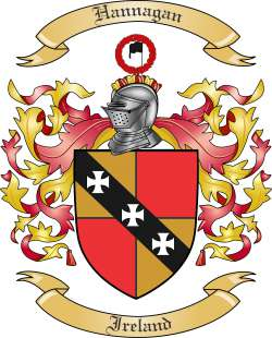 Hannagan family crest