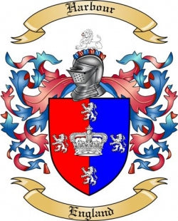 Harbour family crest