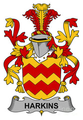 Harkins family crest