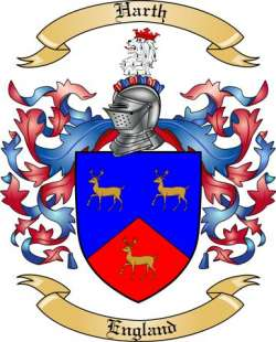 Harth family crest