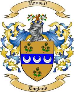Hassall Family Crest