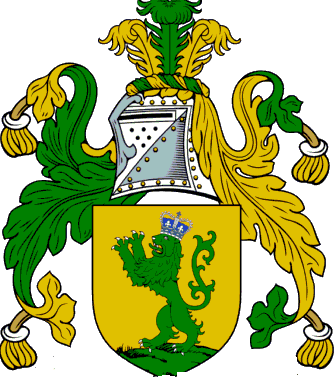 Hasty family crest