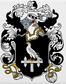 Hawker family crest