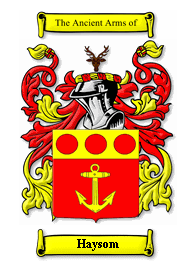 Haysom family crest