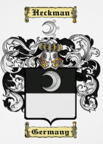 Heckman family crest