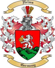 Helms family crest