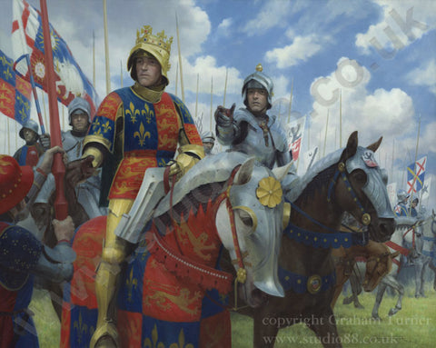 Richard II at the Battle of Bosworth