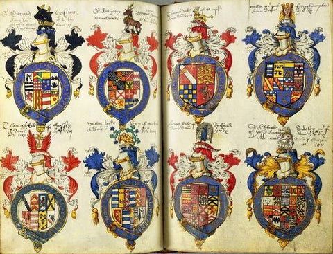 Dethick Garter Book of Arms