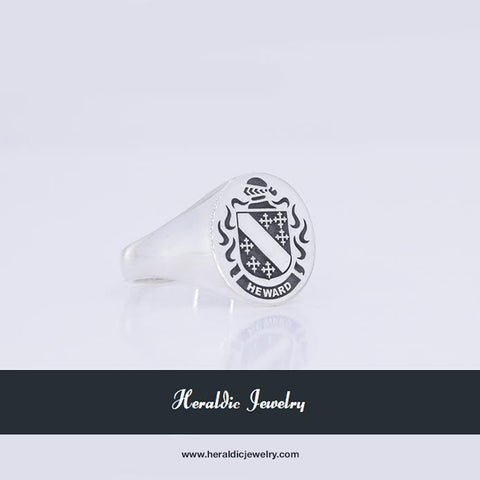 Heward family crest ring